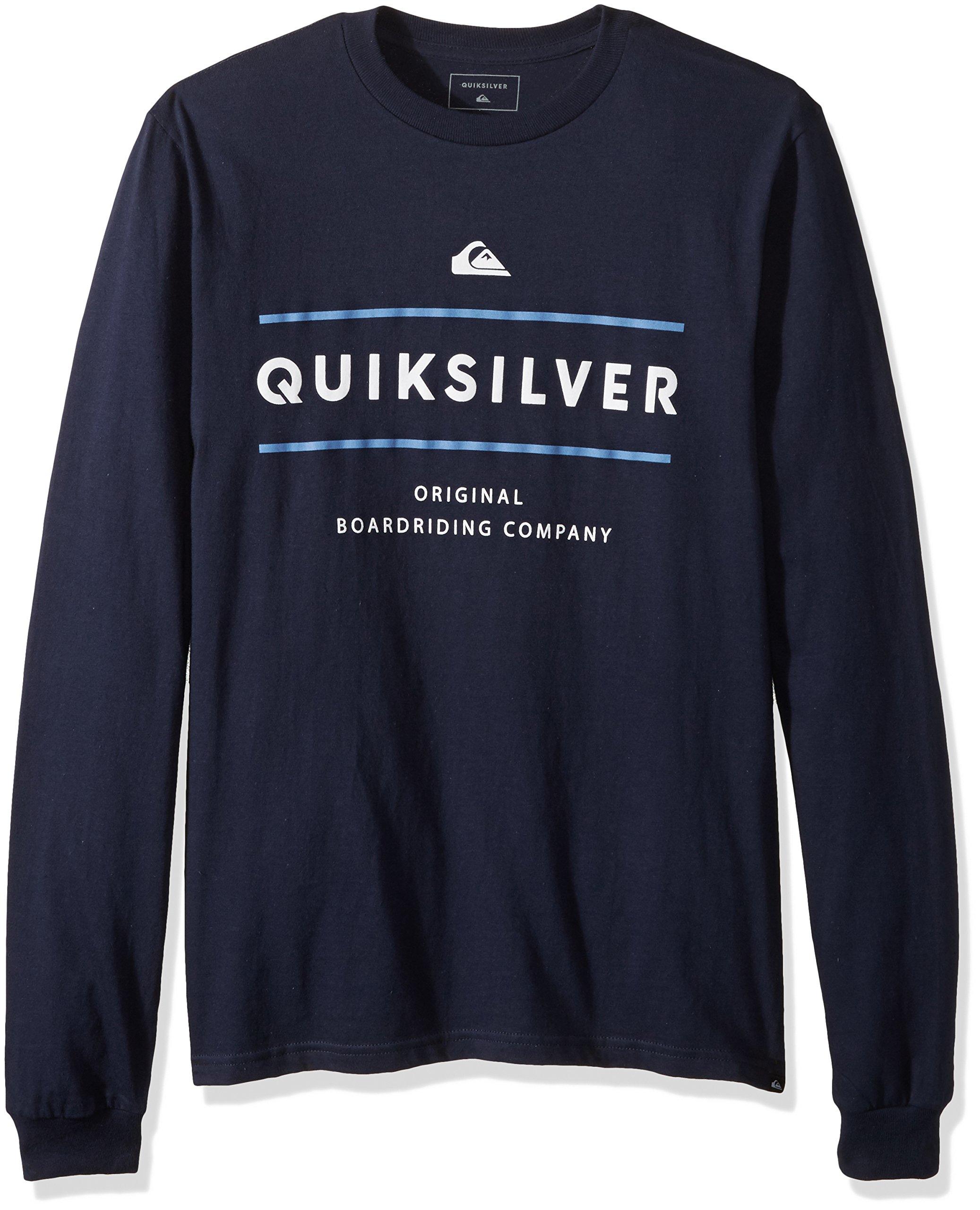 Quiksilver Men's Reverso Surfo Tee, Navy Blazer, M