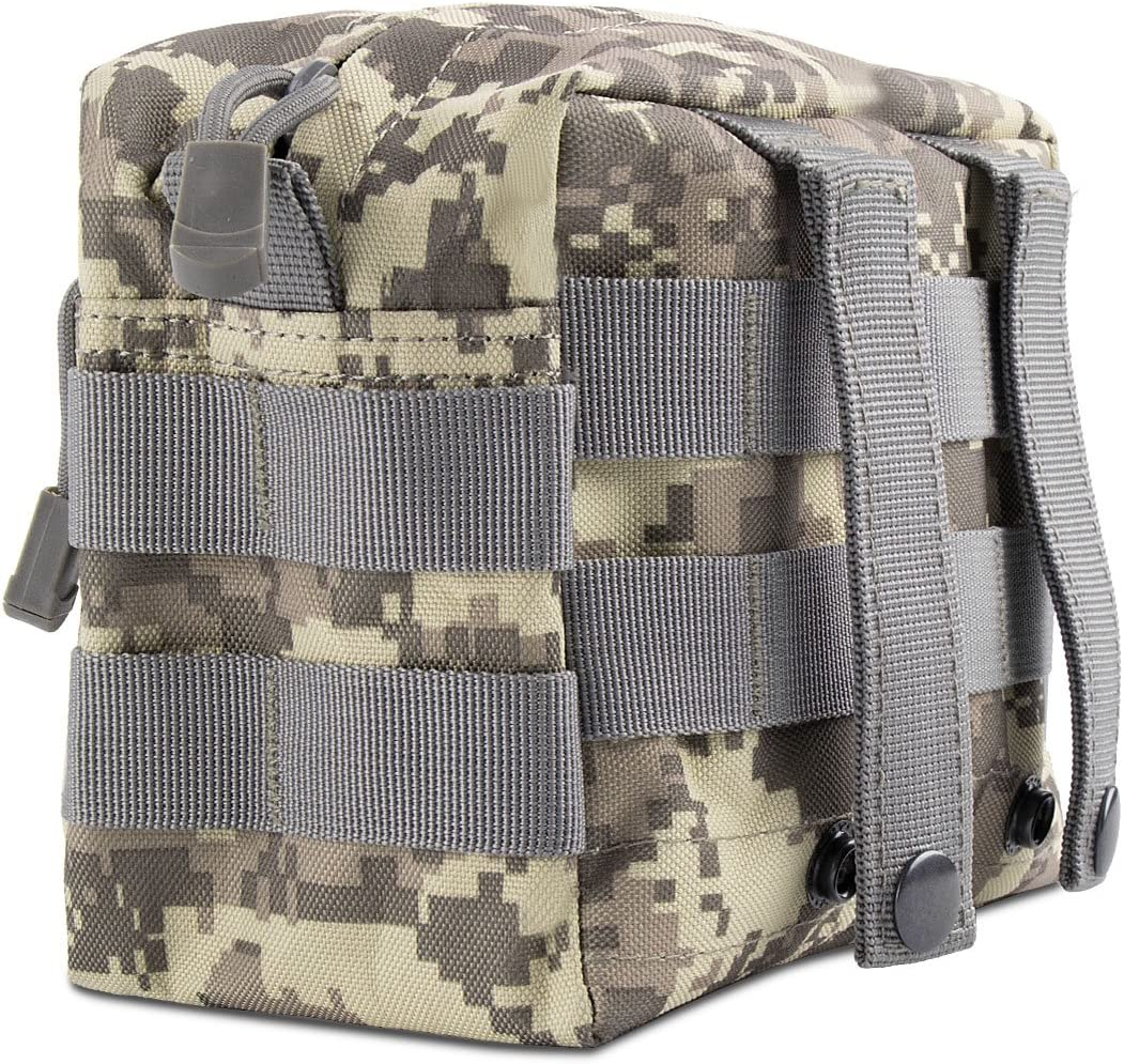 IronSeals MOLLE Pouch Multi-Purpose Tactical Compact Water-Resistant Utility Gadget Gear EDC Pouch