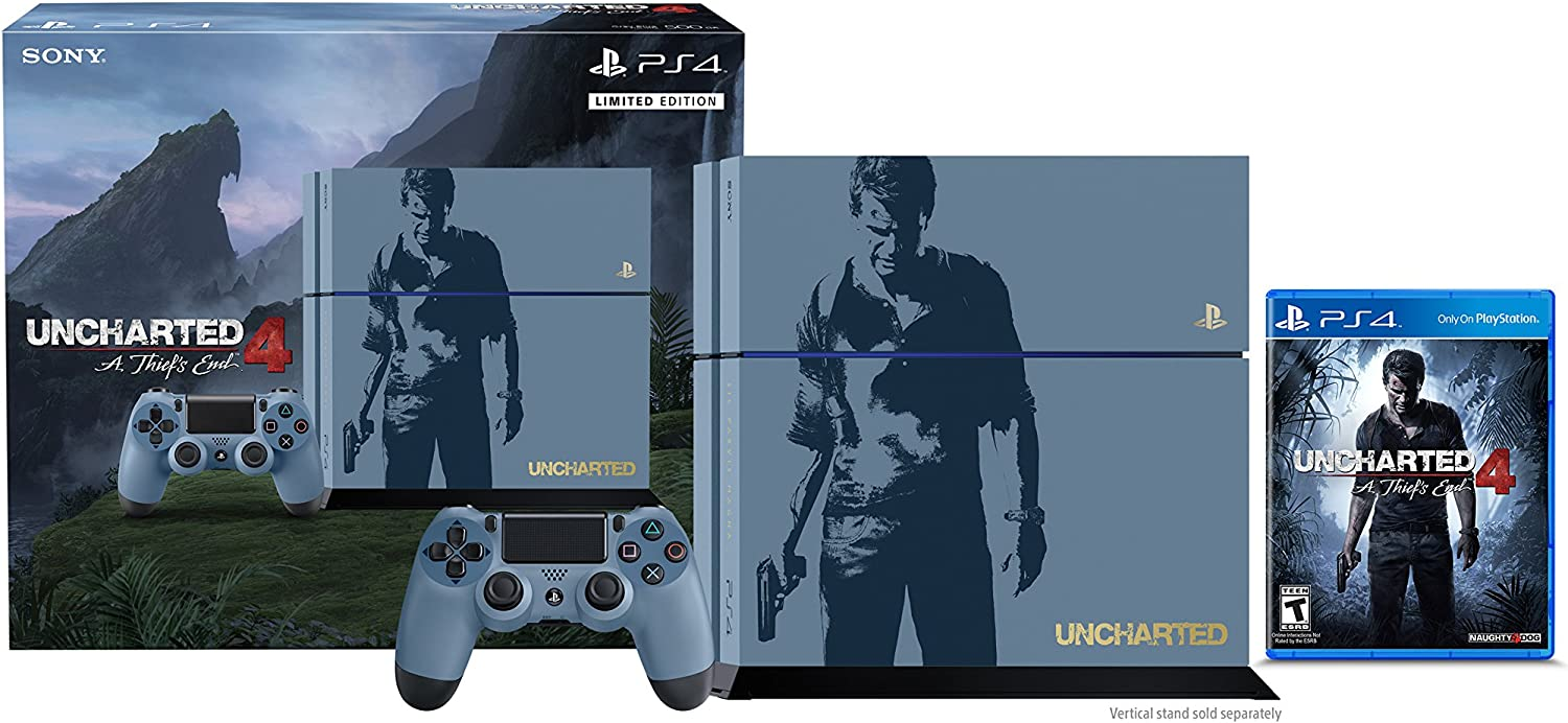Sony PlayStation 4 500 GB Consola - Uncharted 4 Pack de Edición ...