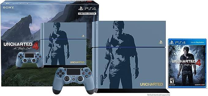 Sony PlayStation 4 500 GB Consola - Uncharted 4 Pack de Edición Limitada [continuado]: Amazon.es: Videojuegos