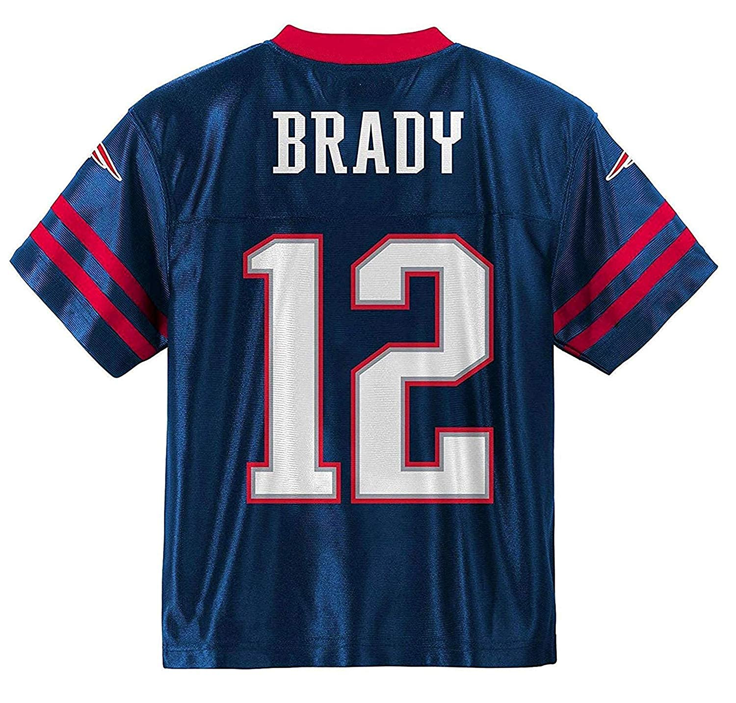 best sneakers 37264 ef0d8 Tom Brady New England Patriots #12 Navy Blue Youth Home Player Jersey