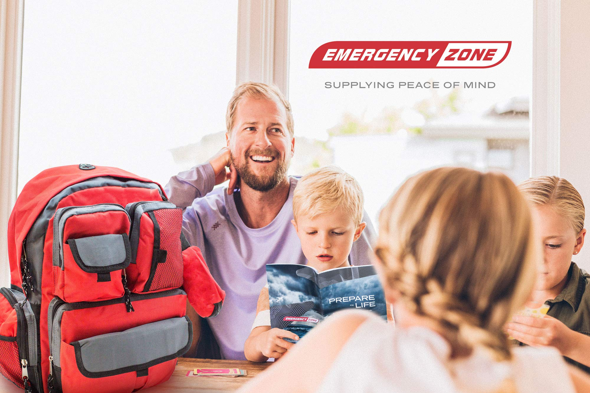 Bundle & Save | Emergency Zone 4 Person Family Prep 72 Hour Survival Kit + Deluxe Child Emergency Go Bag | Perfect Way to Prepare Your Family | Be Ready for Disasters like Hurricanes & Earthquakes by Emergency Zone (Image #8)