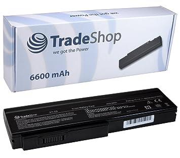 Trade-Shop – Batería Alta Potencia 6600 Mah Para Ordenador Portátil Para Asus, equivalente