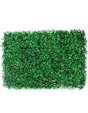 Follaje Artificial Sintentico Pared Decoracion Muro Verde Jardin Tamaño 60x40 Verde