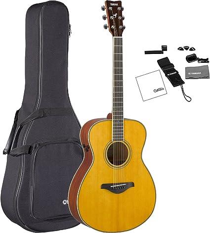 Yamaha FS-TA VT - Guitarra acústica de concierto transacústica con ...
