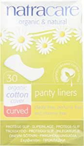 Natracare Panty Liners Curved 30 Count (2 Pack)