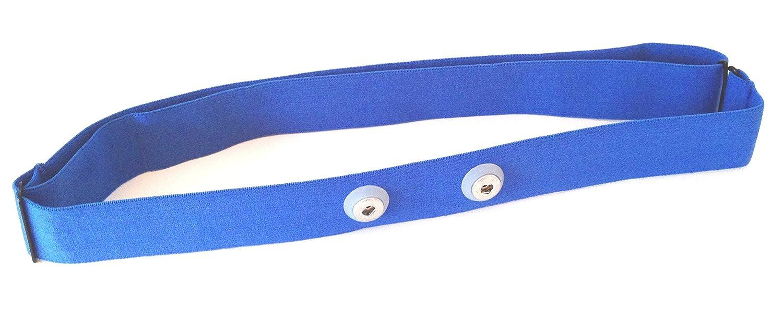 GO-SHOPPING24 Qualità toracica Soft Strap Blu–Blue per Garmin modelli Premium frequenza cardiaca toracica, HRM-Run adatto, M–XXL M-XXL Others