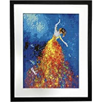 Betionol Picture Frames for Diamond Paintings, Compatible with 12 X 16 inch Canvas Size, Black Natural Pine Wood Diamond…