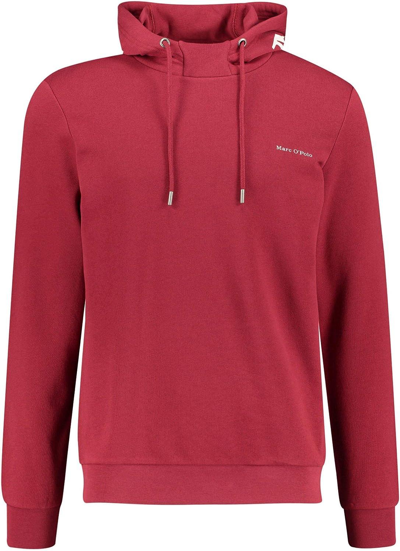 Marc O'Polo Herren Kapuzensweatshirt Rot