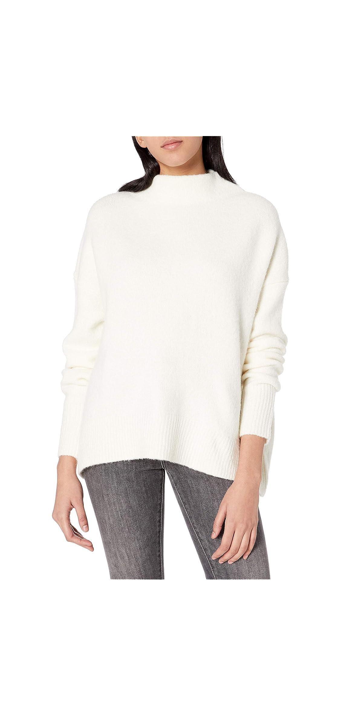 Women's Mock Neck Cozy Sweater