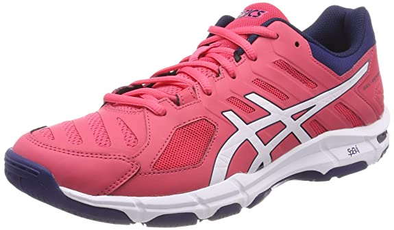 Rosso 38 ASICS GEL BEYOND 5 SCARPE SPORTIVE INDOOR DONNA ROUGE RED/WHITE/INDIGO