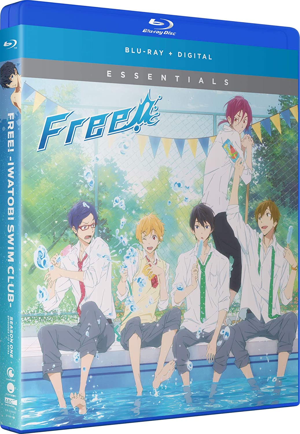 Free! Iwatobi Swim Club Season 1 Essentials Blu-ray (Dual Audio)