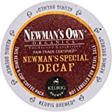 Newman's Own Organics Newman's Special Decaf K-Cup Coffee,72 count