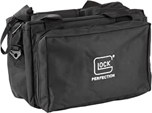 Glock Perfection AP60219 4-Pistol Nylon Range Bag,Black