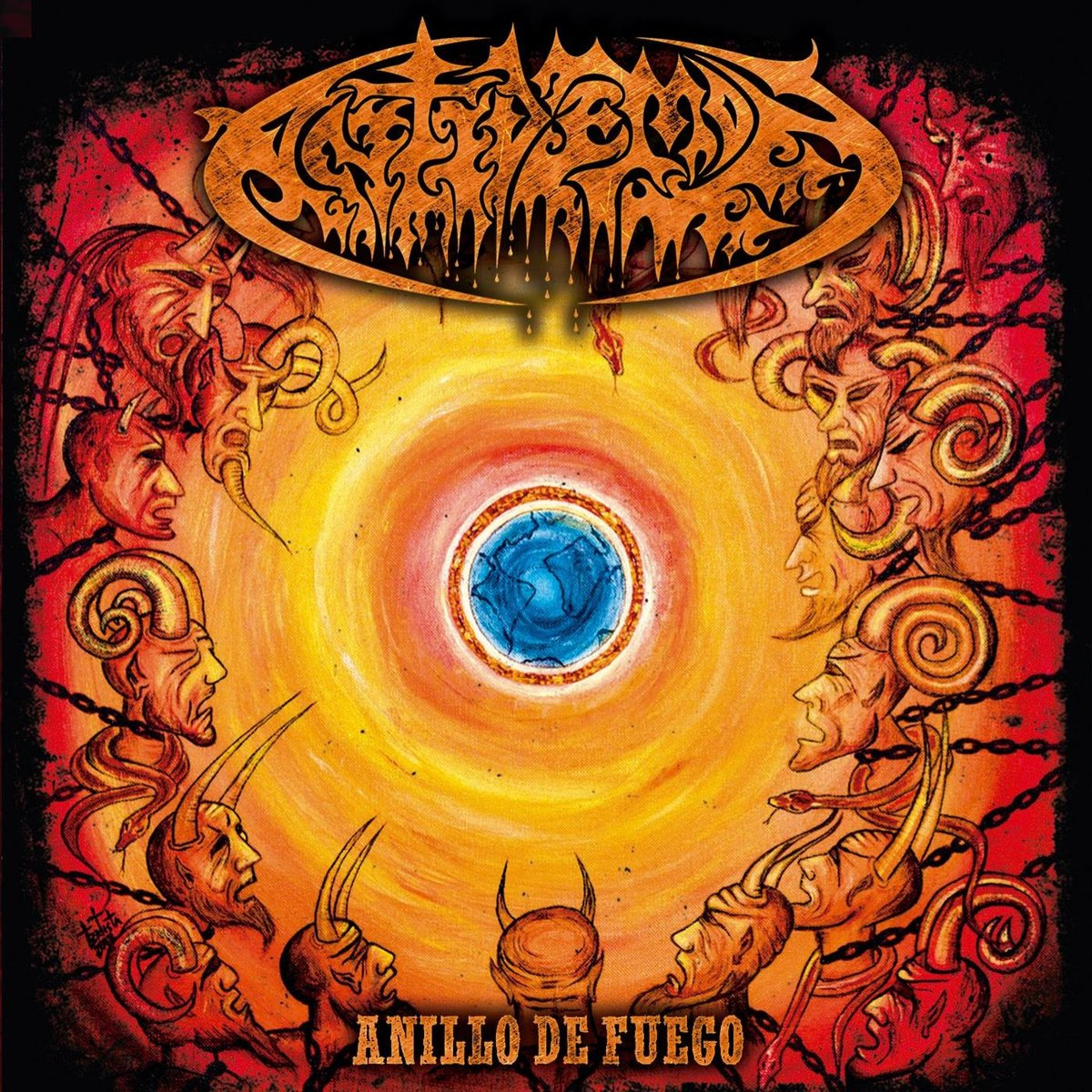 CD : Antidemon - Ring Of Fire (United Kingdom - Import)