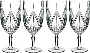 Marquis By Waterford Lacey Iced Beverage Set of 4, 18 ounce, Clear