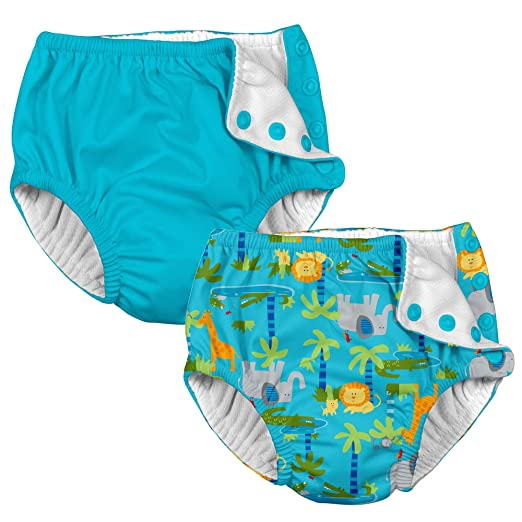 53d1844e1 i play. Boys' Reusable Absorbent Swim Diapers 2 Pack