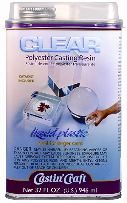 Amazon Com Clear Casting Resin With Catalyst 32 Ounce Arts Crafts