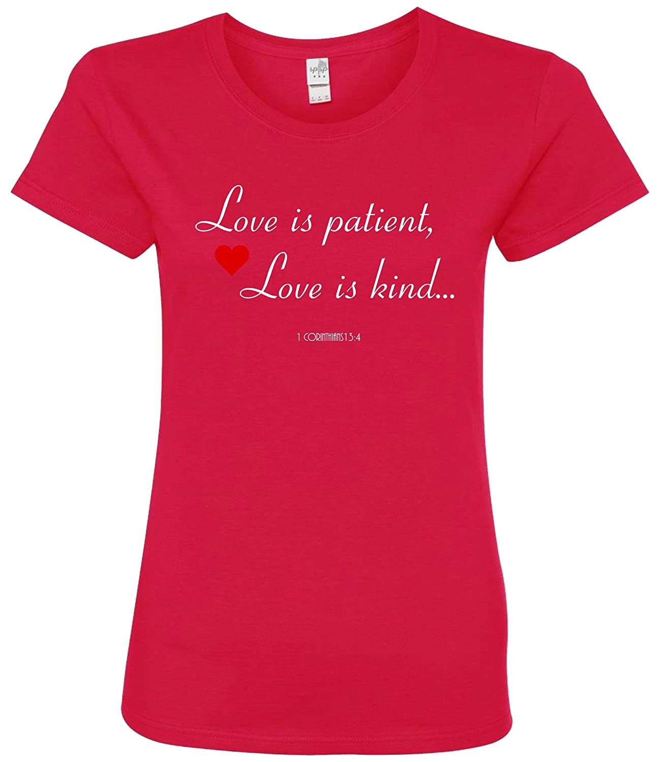 Amazon.com: SuperPraise Love Is Patient Love Is Kind Bible Verse ...