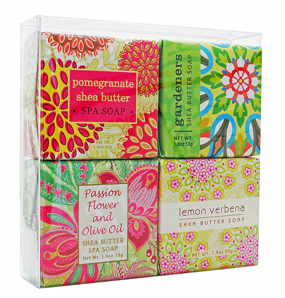 In Bloom Soap Sampler - Set of 4 Assorted Scents