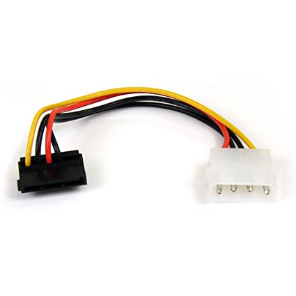 2019 Latest Design Cavo Connettore Ide Molex Lp4 To 2x Sata Latching Power Y Cable Splitta Adapter And To Have A Long Life. Altro Cavi E Connettori