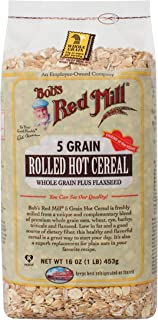 product image for Bob's Red Mill 5 Grain Rolled Hot Cereal 16 Ounces (Case of 4)