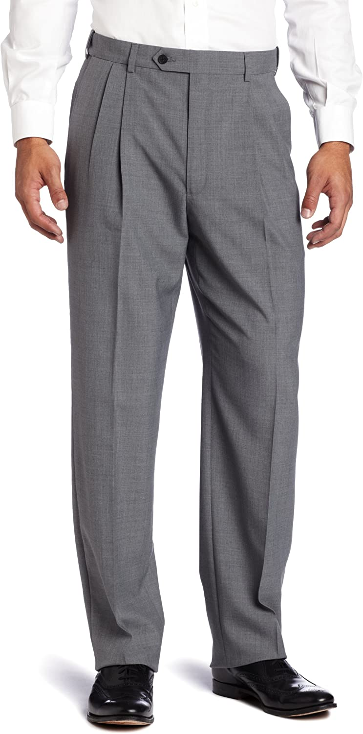 Austin Reed Men S Classic Fit Dress Pant Medium Grey 32 Regular At Amazon Men S Clothing Store Business Suit Pants Separates