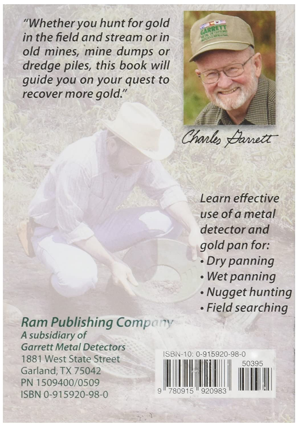 Amazon.com: How to Find Gold: Metal Detecting & Panning: Garden & Outdoor