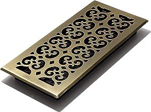 Decor Grates SPH614-A Floor Register, 6x14, Antique Brass