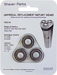 Shaver-Parts - Testine di ricambio [confezione da 3]