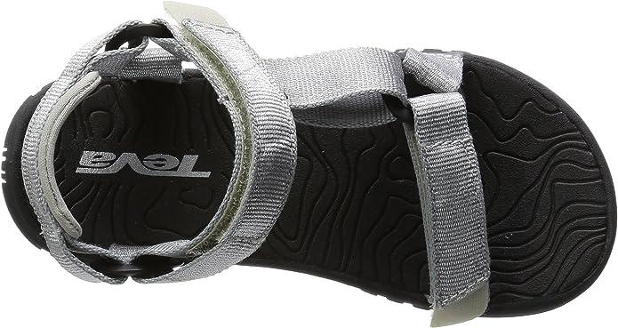 TevaC Hurricane 3 - Sandalias deportivas Niñas, Plateado, 28: Amazon.es: Zapatos y complementos
