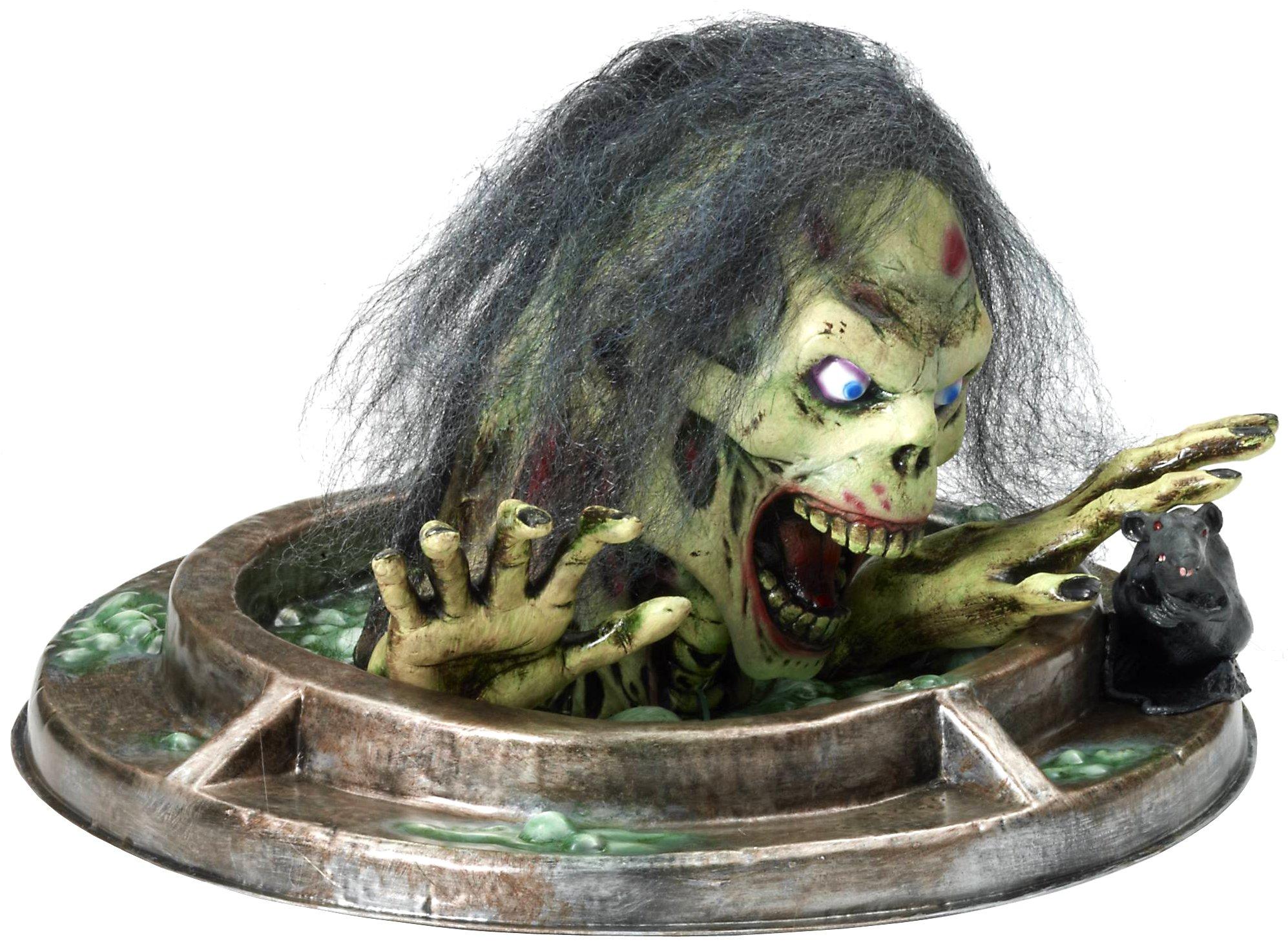 Forum Novelties Manhole Monster Zombie Prop for Party Decoration, Multicolor