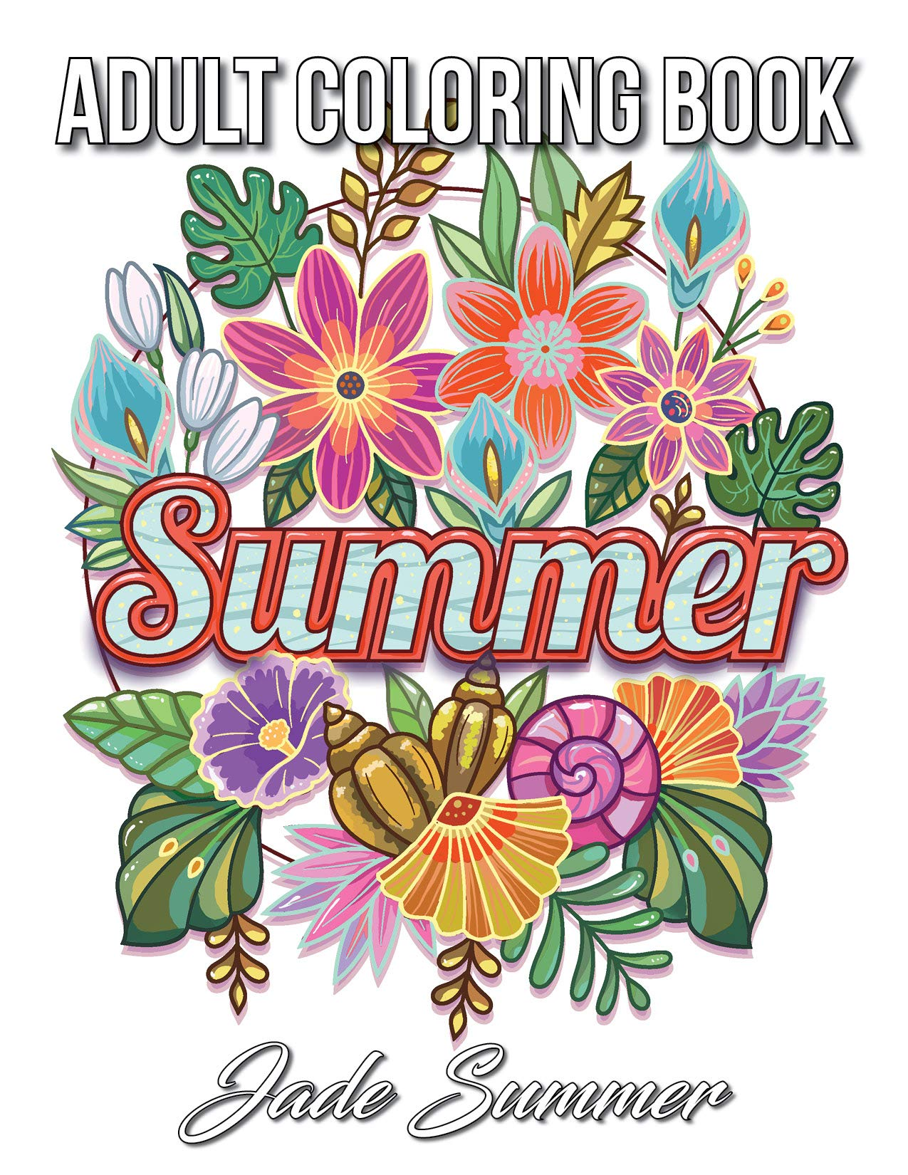 Amazon.com: Summer Coloring Book: An Adult Coloring Book with