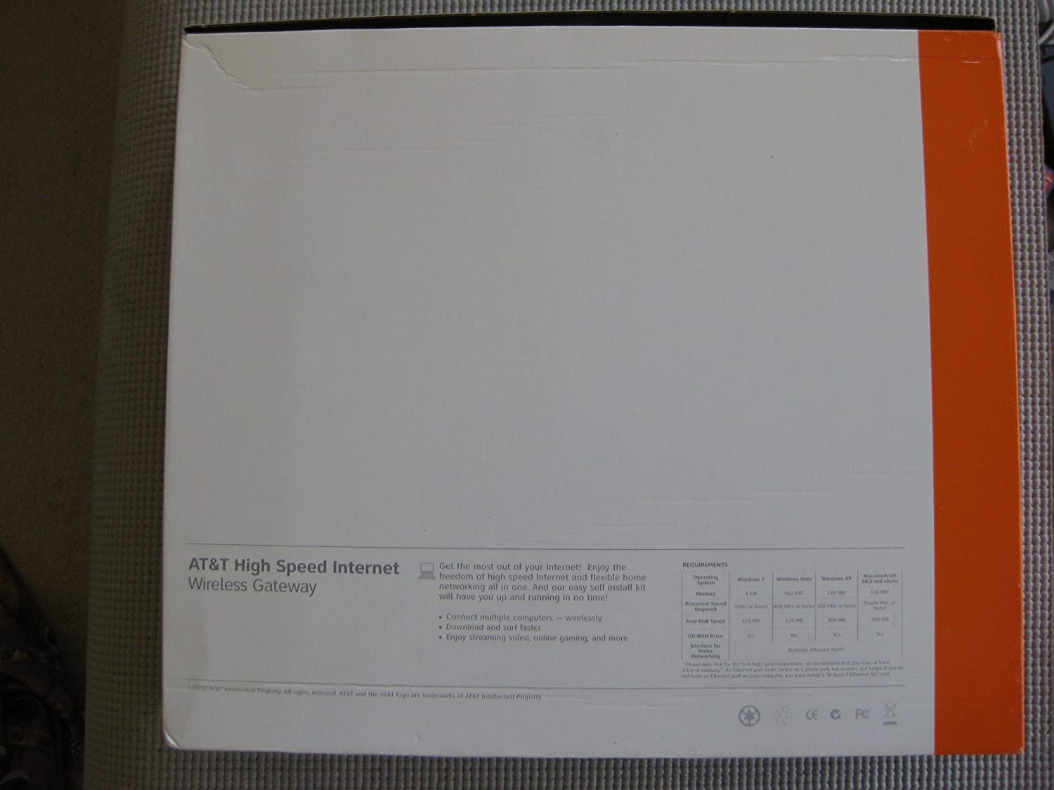 AT/&T 2701HG-B 2Wire Wireless Gateway DSL Router Modem