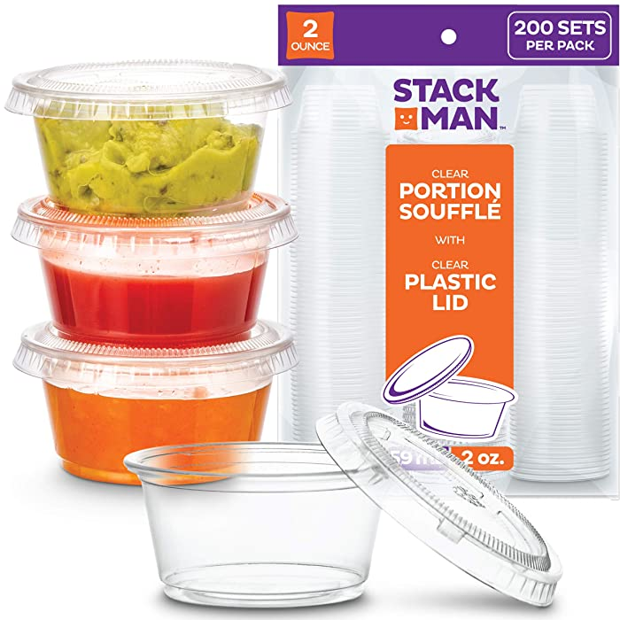 Top 10 2 Oz Small Disposable Food Containers
