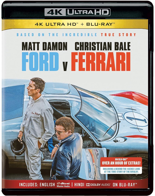 Image result for ford vs ferrari bluray