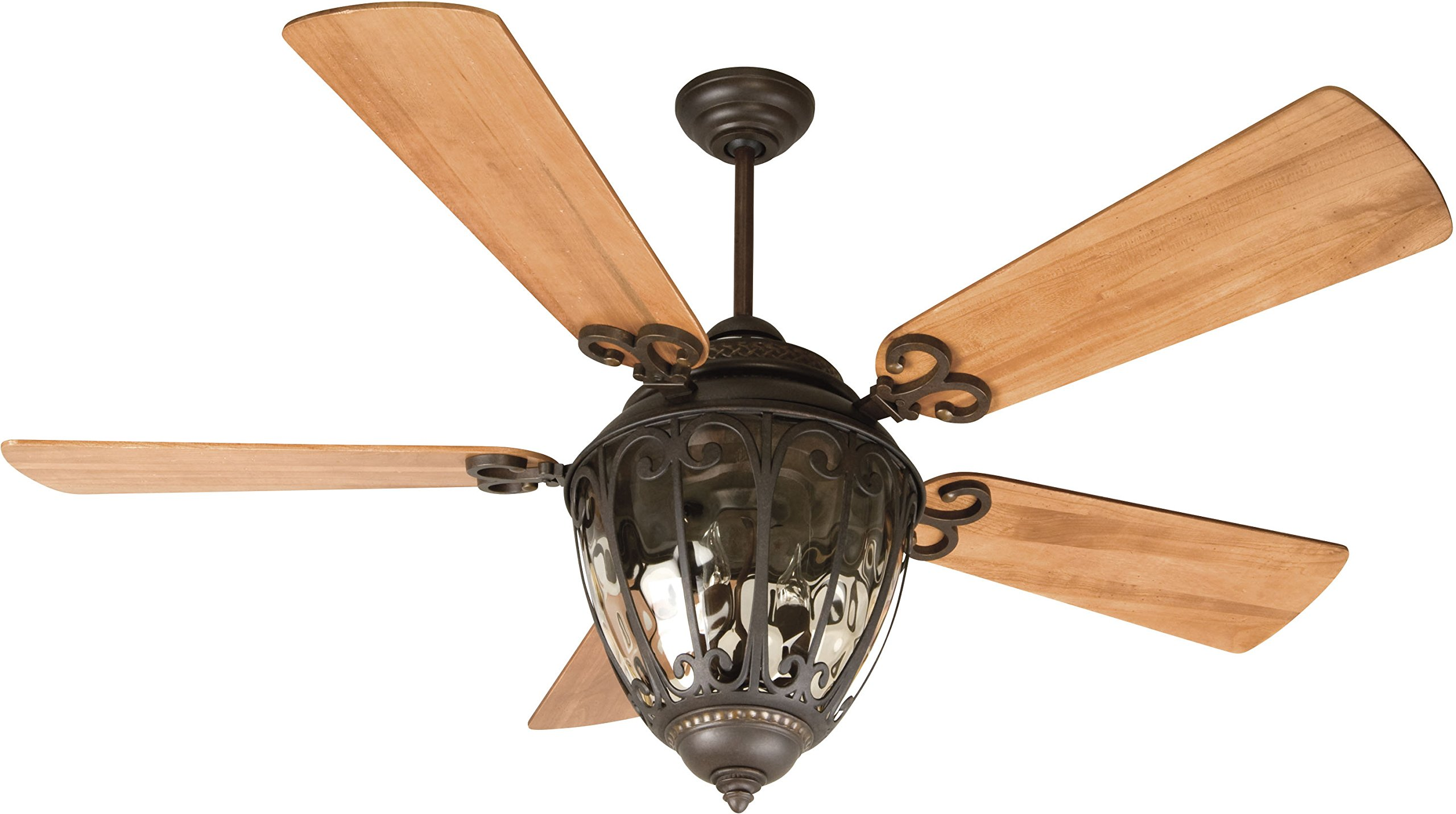 Craftmade K10731 Ceiling Fan Motor with Blades Included by Craftmade