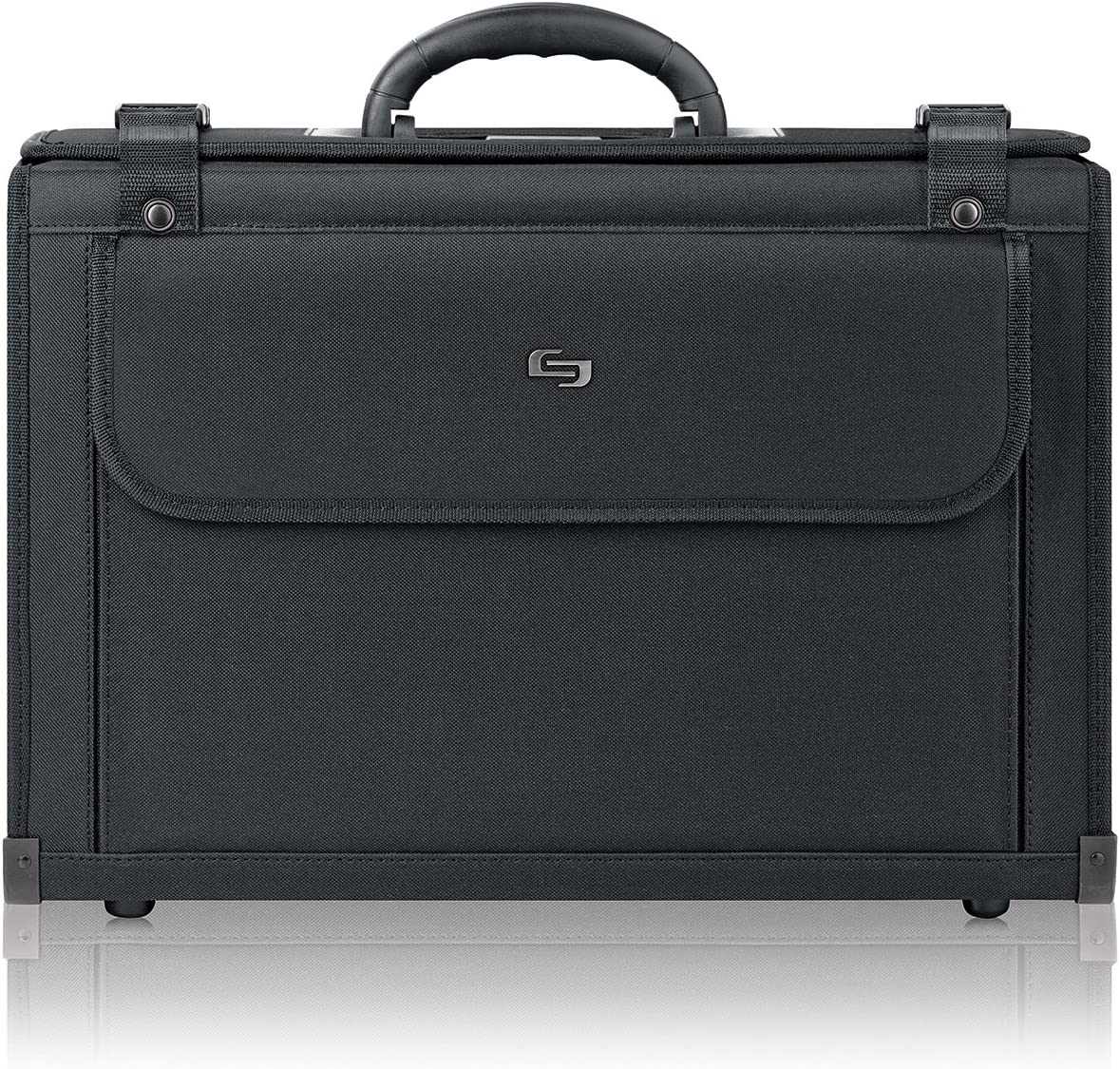 Solo Classic 16 Inch Laptop Catalog Case, Black