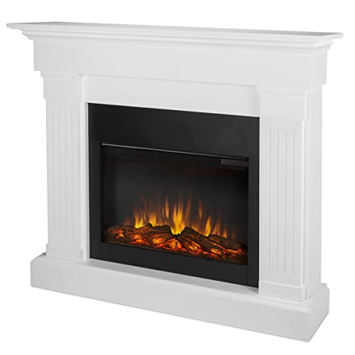 Real Flame 8020E-W 8020E Crawford Electric Fireplace