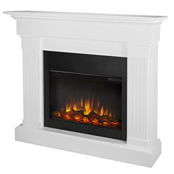 Exceptionnel Real Flame 8020E W Crawford Electric Fireplace, White