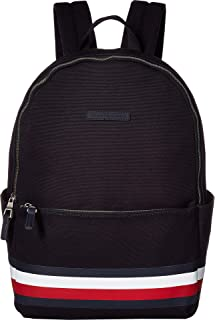 Tommy Hilfiger Mens Stephan Corporate Stripe Canvas Backpack