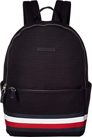 7c80d47435 Amazon.com | Tommy Hilfiger Men's Stephan Corporate Stripe Canvas Backpack  Tommy Navy One Size | Casual Daypacks