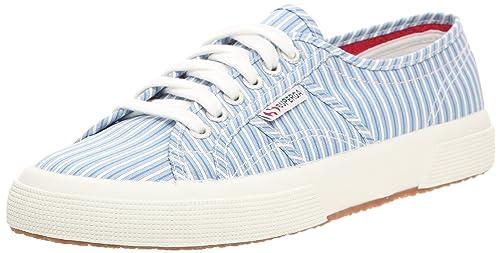 Superga 2750 Cotu Shirt, Sneaker uomo, Blu (Blau (Hellblau)), 46