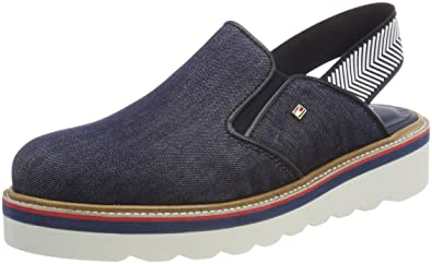 competitive price 87234 1b5d4 Tommy Hilfiger Damen Sporty Denim Slip On Slipper