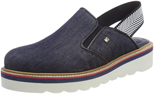 Tommy Hilfiger Sporty Denim Slip On, Mocasines para Mujer: Amazon.es: Zapatos y complementos