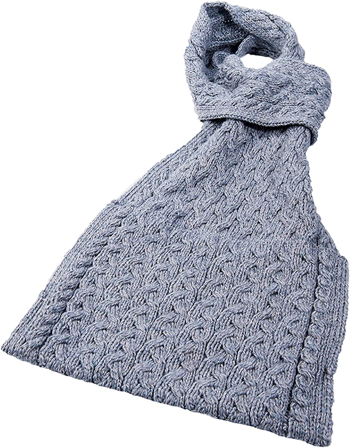 BLACK ONE SIZE WOMANS WINTER SCARF WITH BUILT-IN HOOD /& POCKETS WHITE