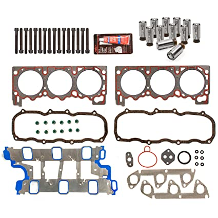 Evergreen Hshblf8 20300 Lifter Replacement Kit Fits 95 96 Ford Explorer Ranger Aerostar Mazda 4 0 Ohv Head Gasket Set Head Bolts Lifters