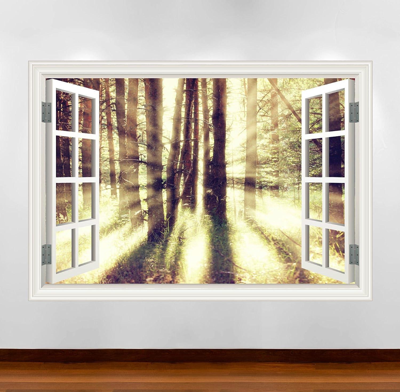 Wand Smart Designs wsd251 m Dream Woods Winter Sun Full Farbe ...