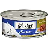 Gourmet Solitaire Duck and Vegetables, 85 g - Pack of 12
