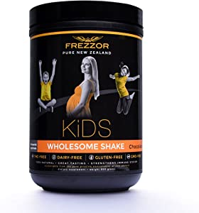 Frezzor | All Natural Immune Strengthening Shake for Kids | Provides Focus & Rapid Muscle Recovery for Active Children | 30 Servings